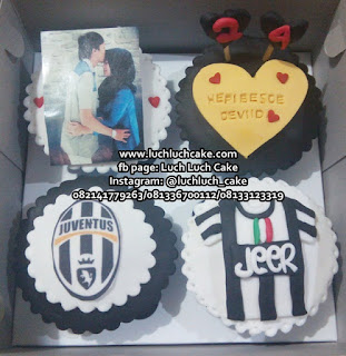 Cupcake Juventus dengan Foto