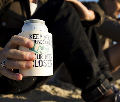 Keep Your Friends Close Foam Can Cooler