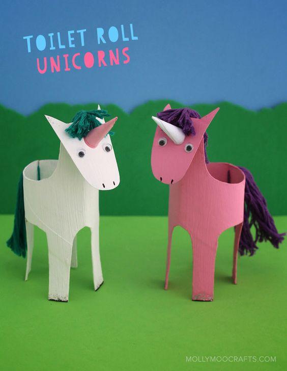 Come Costruire Un Cavallo.Creare Animaletti Con I Rotoli Di Carta Igienica Creare Con La