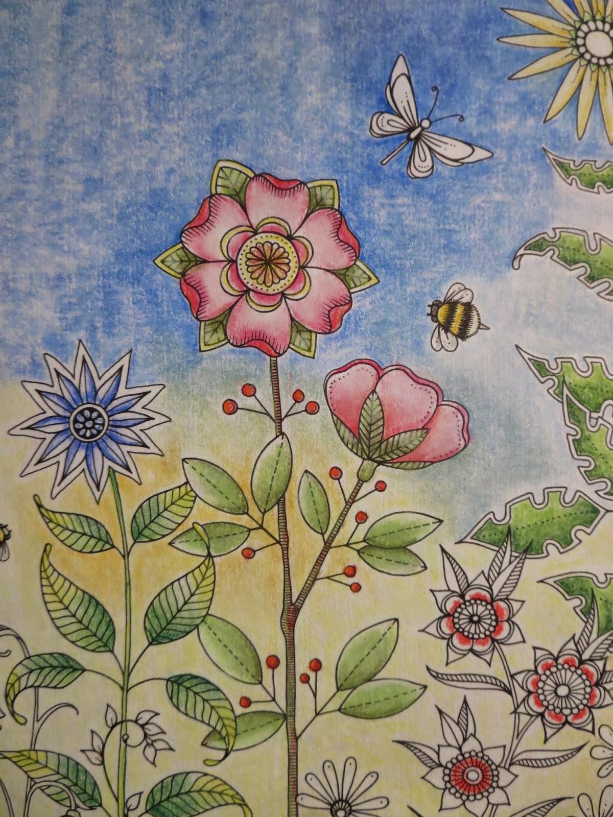 My Secret Garden: Passion For Pencils: My Secret Garden Colouring Book, Part