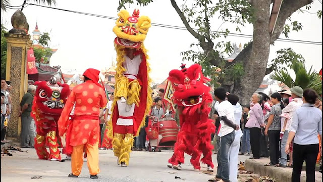 10 interesting festivals on the first lunar month in the north of Vietnam 7