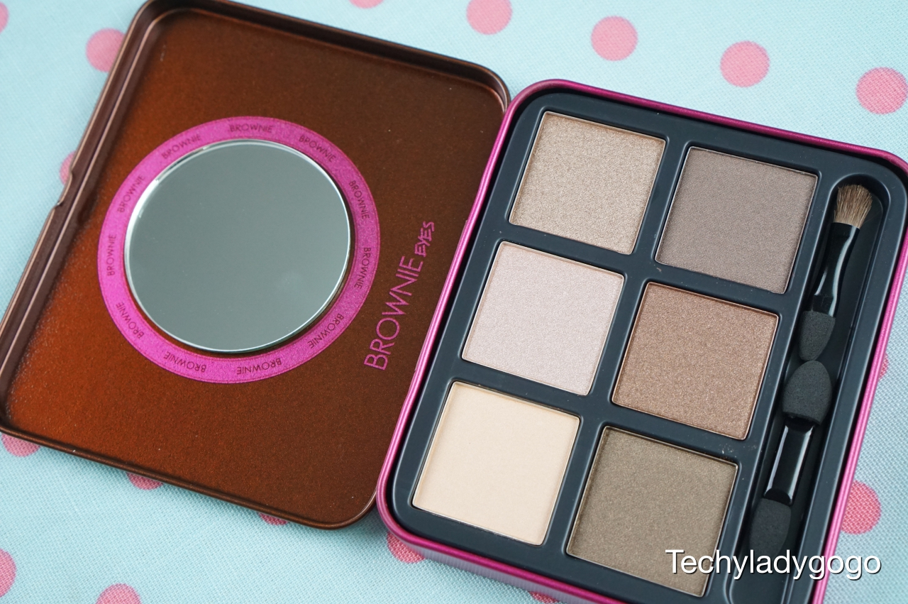 1028 Visual Therapy Brownie Eyeshadow Kit รีวิวอายแชโดว์