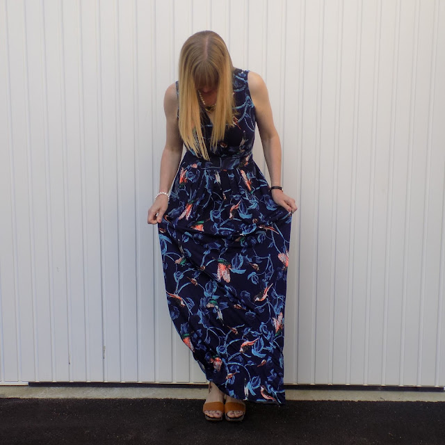Onjenu printed maxi dress
