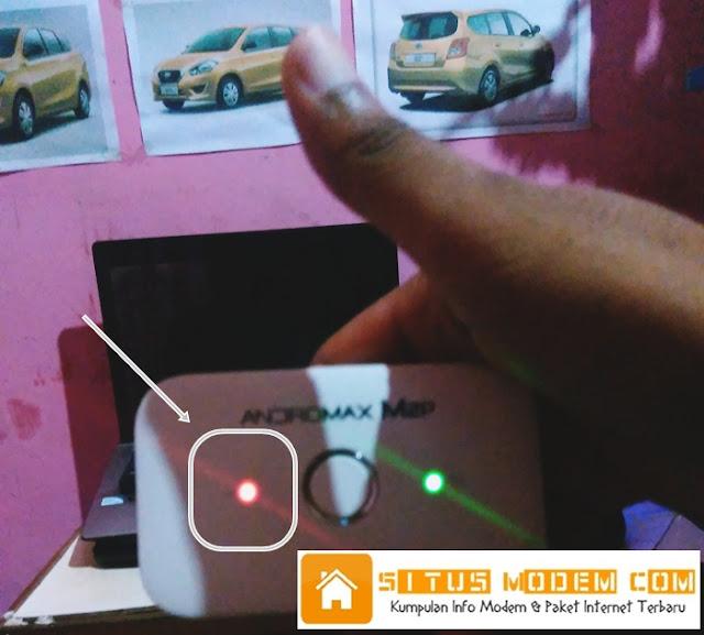 Wah Tiba-Tiba Andromax MIFI Smartfren Sinyal berwarna Merah, Bagaimana Solusinya ?