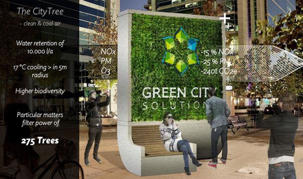 Resultado de imagem para city tree green city solutions