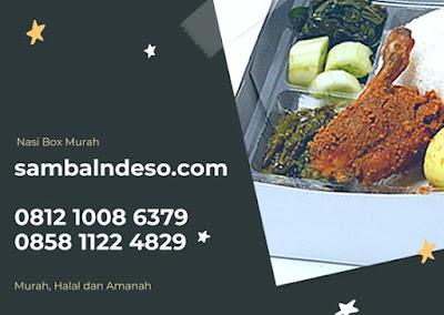 harga paket nasi box terenak daerah sektor 1 Bintaro