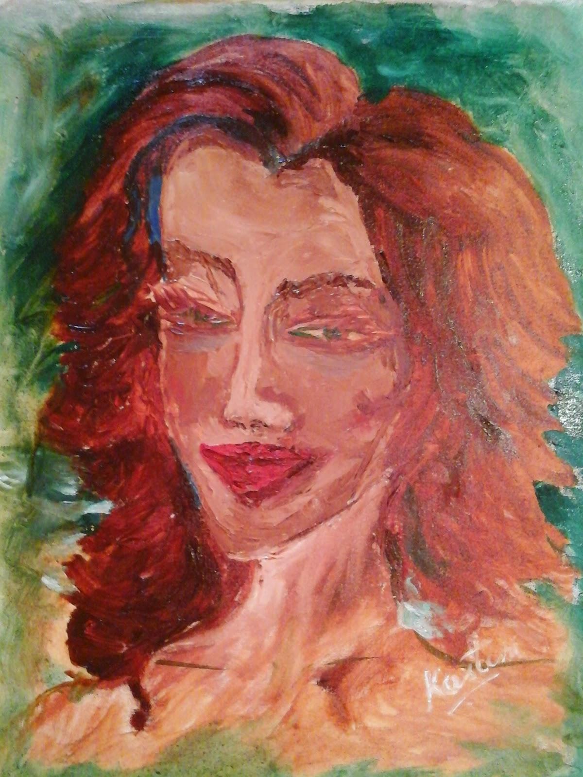 Art By Kasturi Borkotoki August 2014 Oil On Canvas With Palette Knives