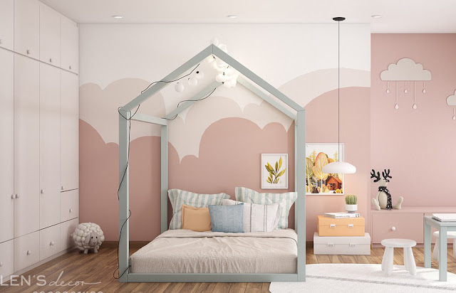 decor phòng cho bé yêu