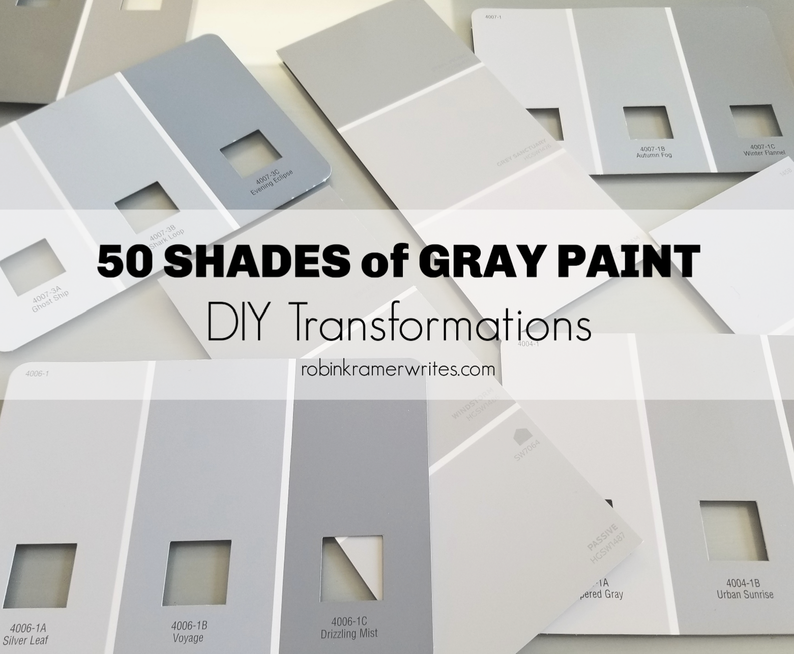 50 Fifty Shades of Gray Paint How to Choose the Perfect Paint Color