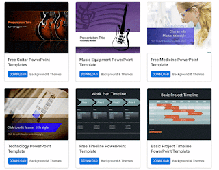 Featured Powerpoint Templates