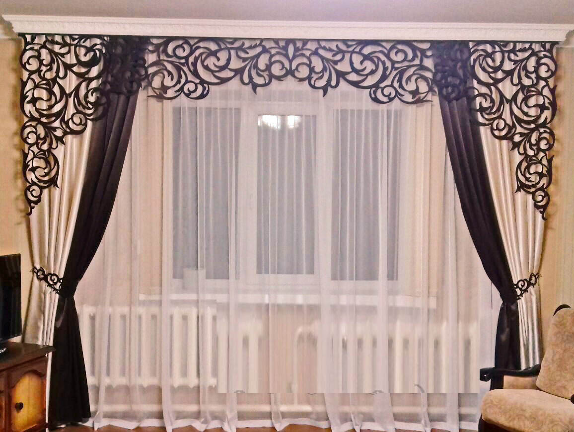 curtain design for living room 2019
