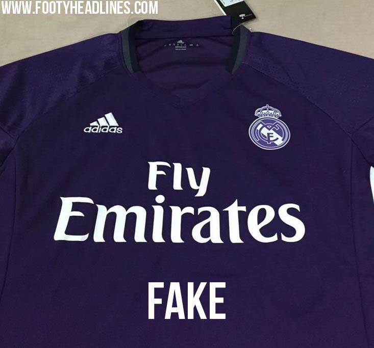 Real Madrid 2016-17 Away Kit Leaked? - Footy Headlines