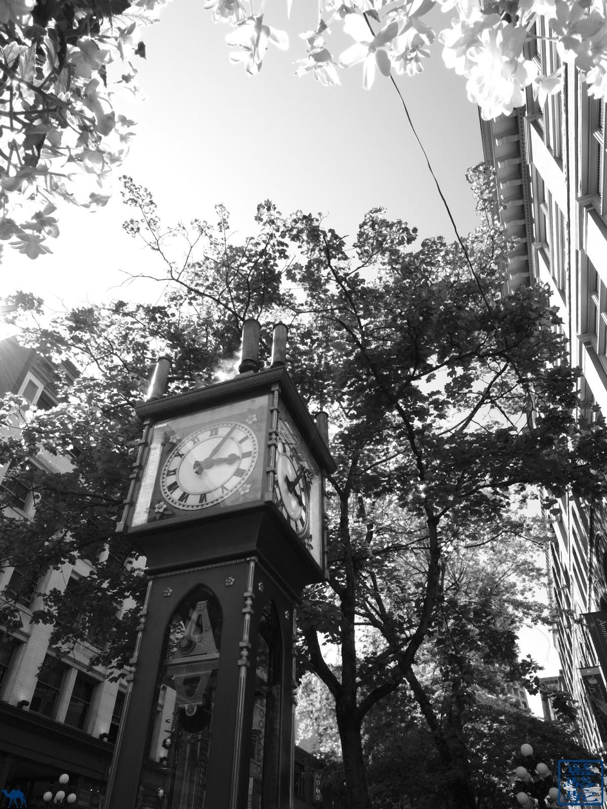 Le Chameau Bleu - Steam Clock  de Vancouver