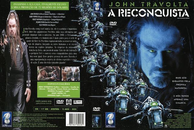Capa DVD A Reconquista