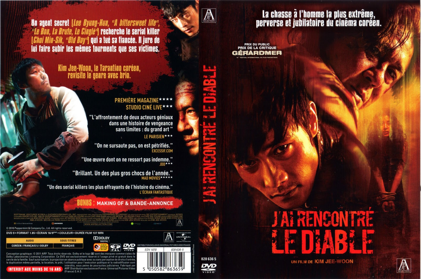 J ai rencontre le diable streaming