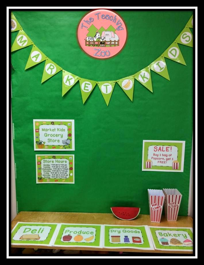 http://www.teacherspayteachers.com/Product/Grocery-Store-Dramatic-Play-Pack-993038