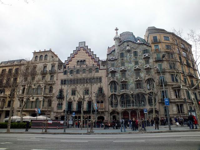 qué ver en el paseo de Gracia en Barcelona