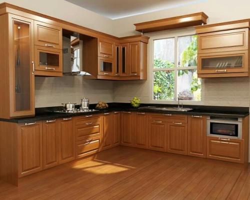 Hướng dẫn chọn sàn gỗ tự nhiên cho phòng bếp hiệu quả tốt