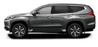 Mitsubishi Pajero Exceed Warna Grey