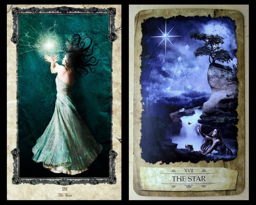 The Occult    : The Star: the card of hope