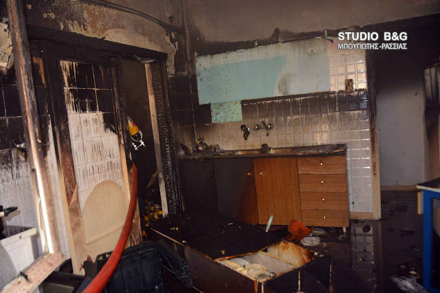 Πυρκαγιά σε οικία στο Άργος
