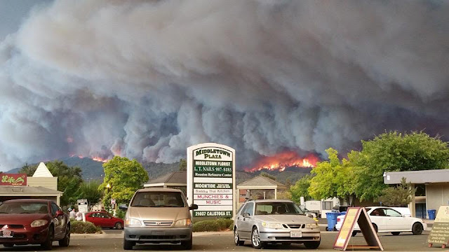 ValleyFire, Middletown California