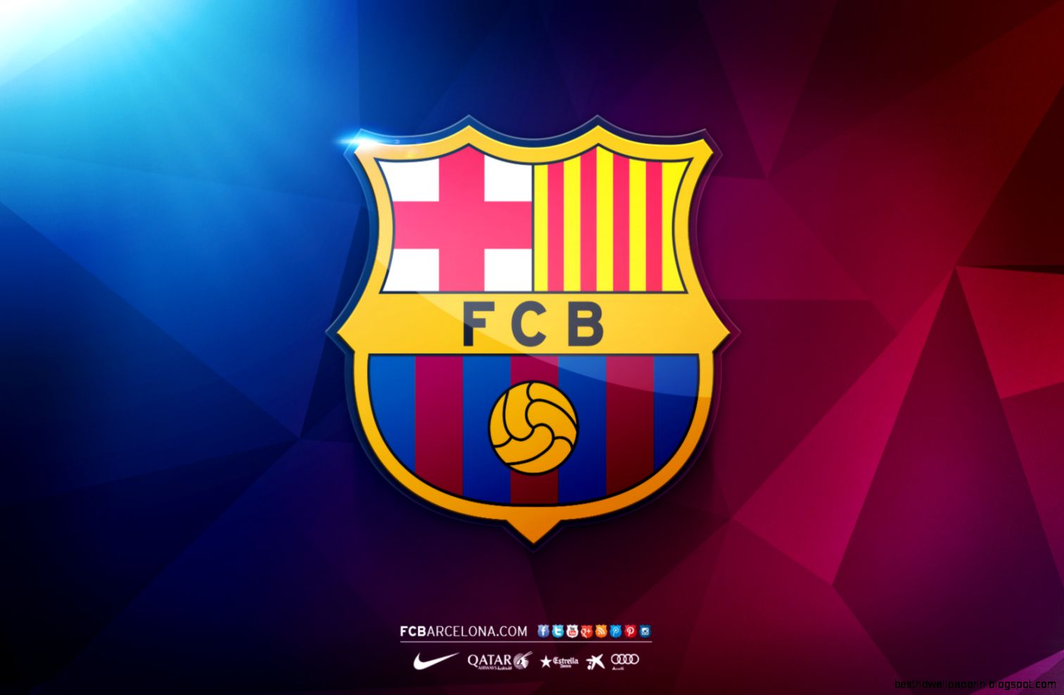 Barcelona Fc Logo Wallpaper | Best HD Wallpapers