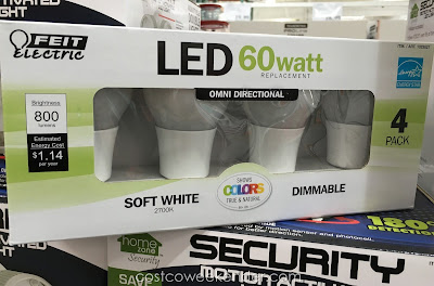 Feit Electric LED 60W Light Bulb - Light up your home with these LED replacements