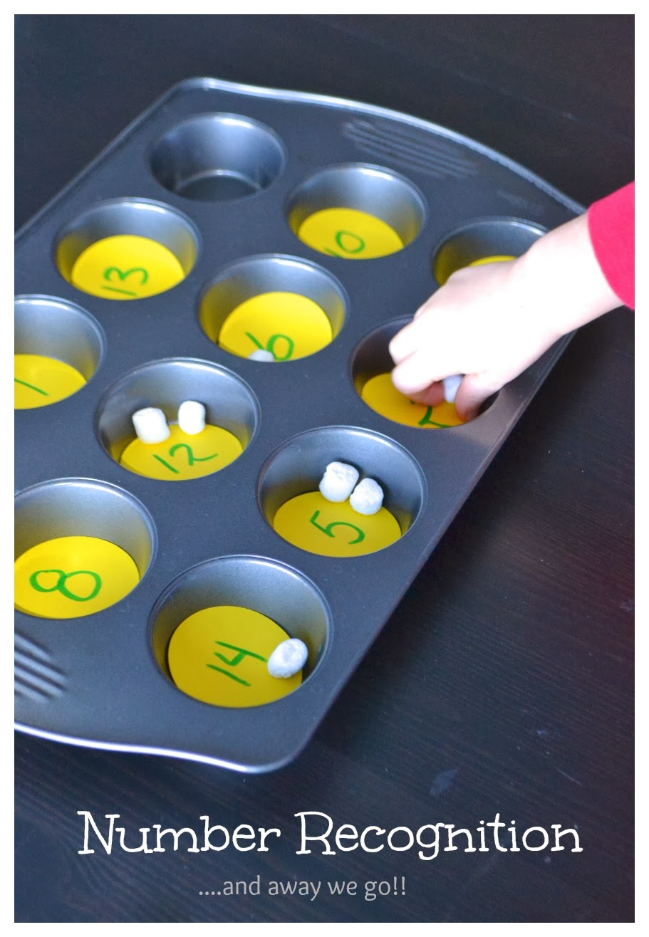 And Away We Go! A Simple Number Recognition Activity