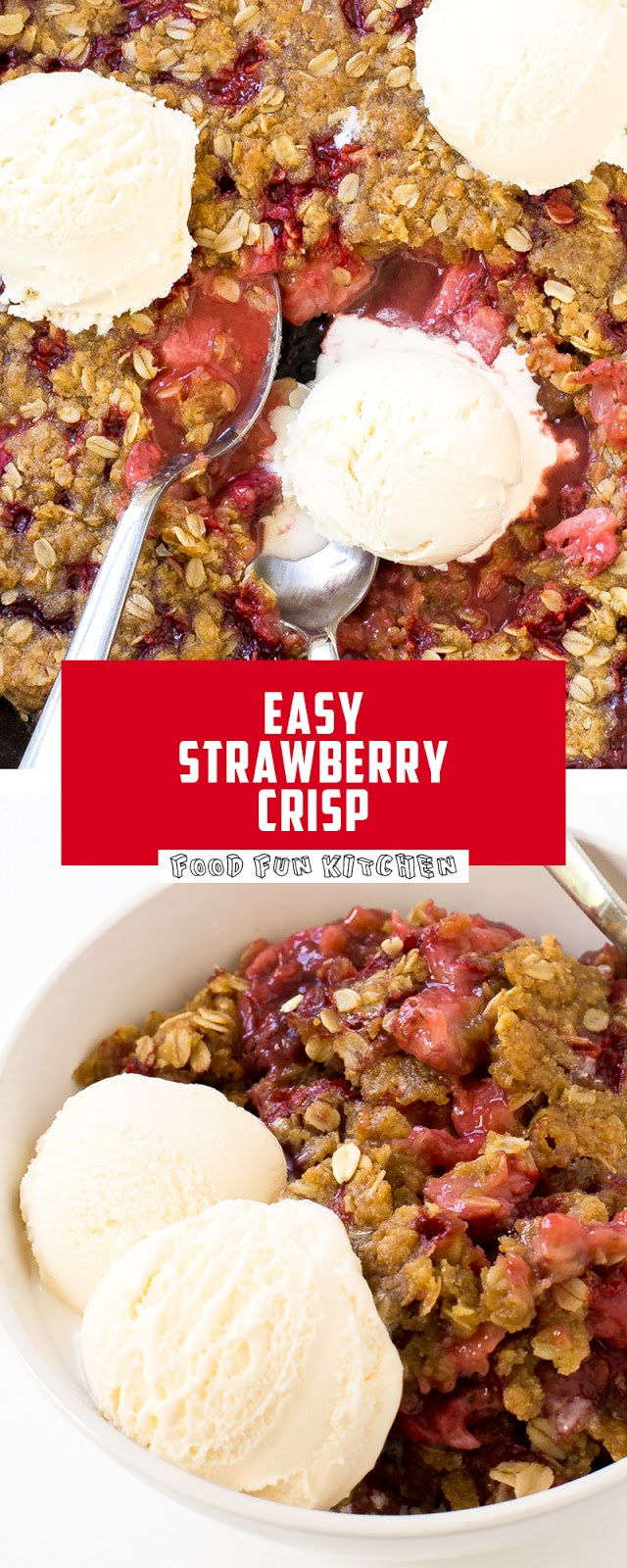 EASY STRAWBERRY CRISP