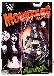 Mattel WWE Monsters Asuka action figure