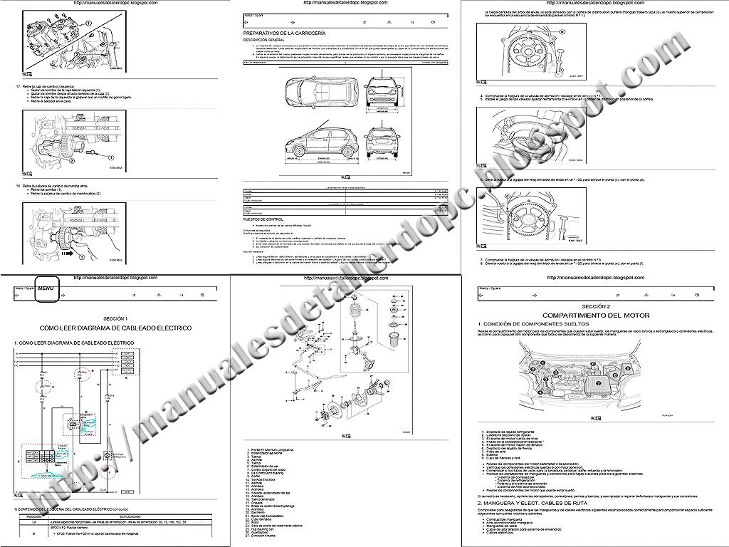 manual de taller chevrolet spark
