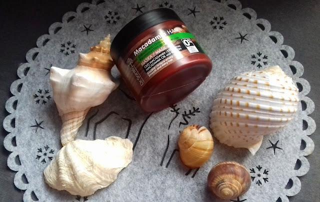 Dr. Sante - Maska do włosów z olejem makadamia