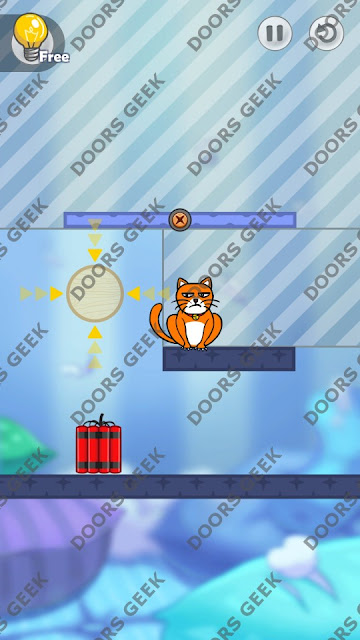 Hello Cats Level 8 Solution, Cheats, Walkthrough 3 Stars for Android and iOS