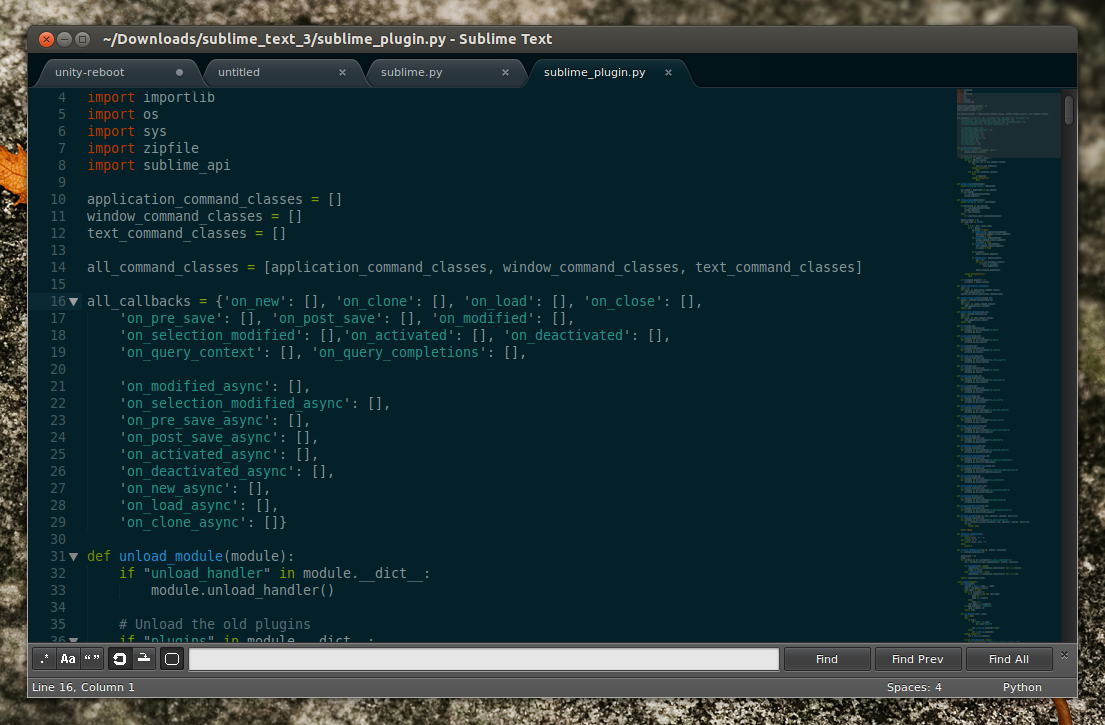 Sublime Text 3 Beta Available For Download ~ Web Upd8: Ubuntu