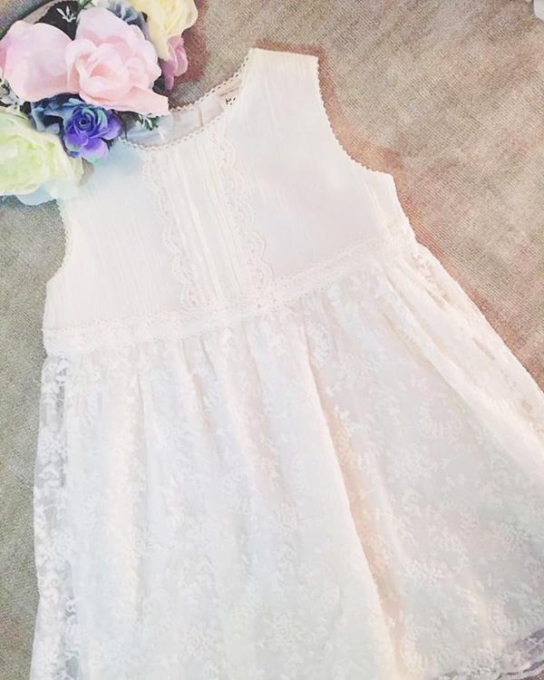 Moda primavera verano 2018 vestidos para niñas.