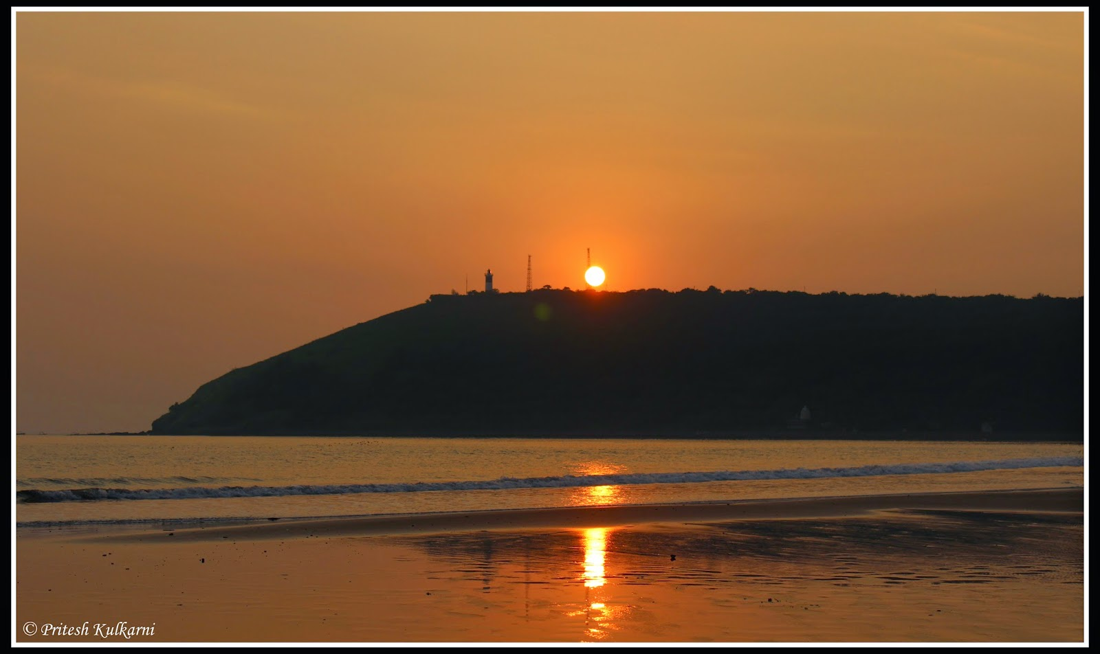 Sunset from Mandavi Beach