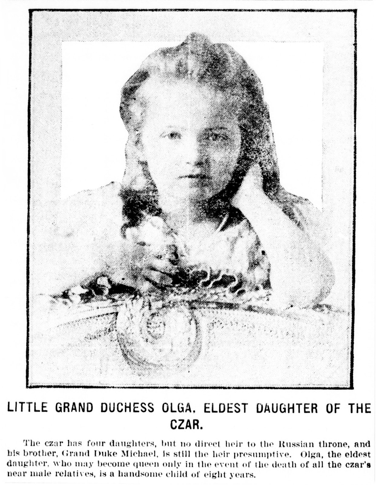 deeAuvil: Grand Duchess Olga of the Russian Royal Family