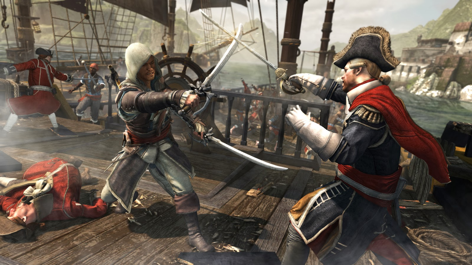 Black Ps4 Creed Sur Assassin's Pirates FlagLes Reviennent vmwyN0On8