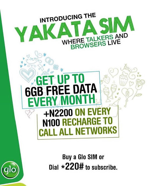 Get Up To 6GB Free Data On Glo Nigeria