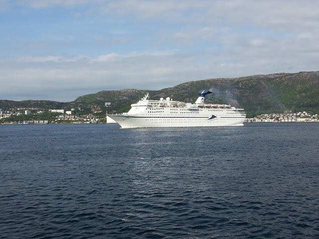CMV Cruise ship Magellan in Bergen, Norway; Fjord Cruise; Ships in Bergen