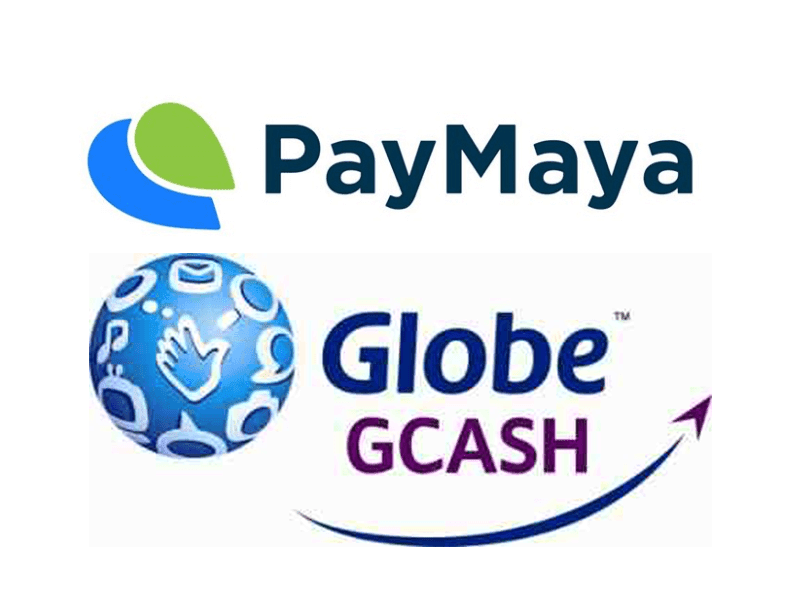 Paymaya and GCash