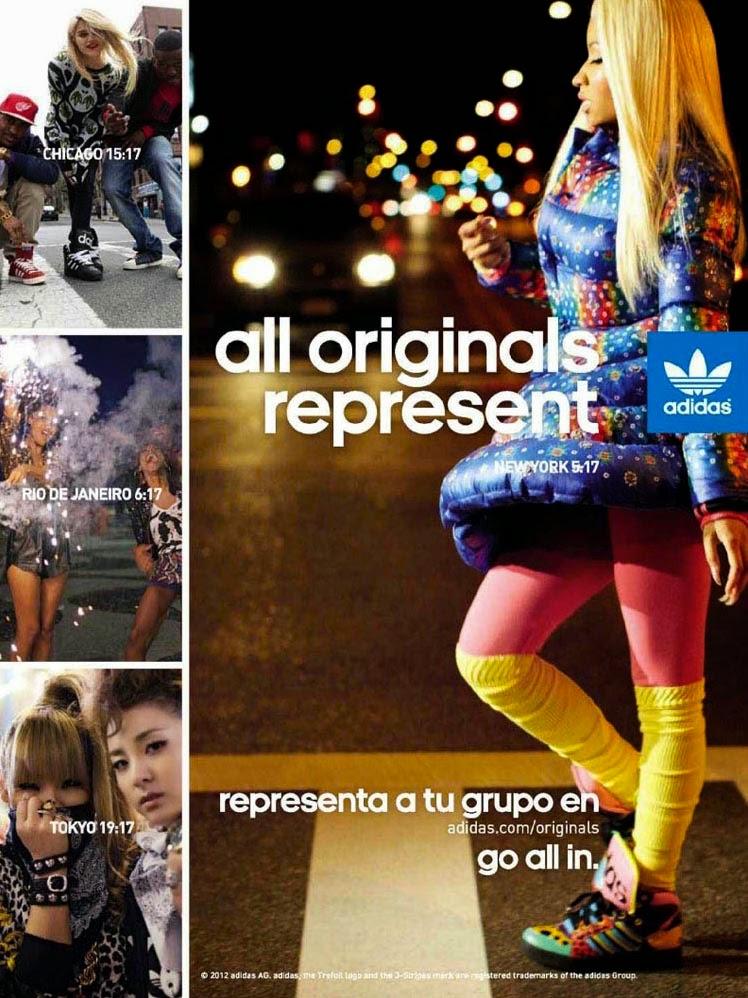 Comprensión Instalación veterano  The Essentialist - Fashion Advertising Updated Daily: Adidas Originals  feat. Nicki Minaj Advertising Campaign Fall/Winter 2012/2013