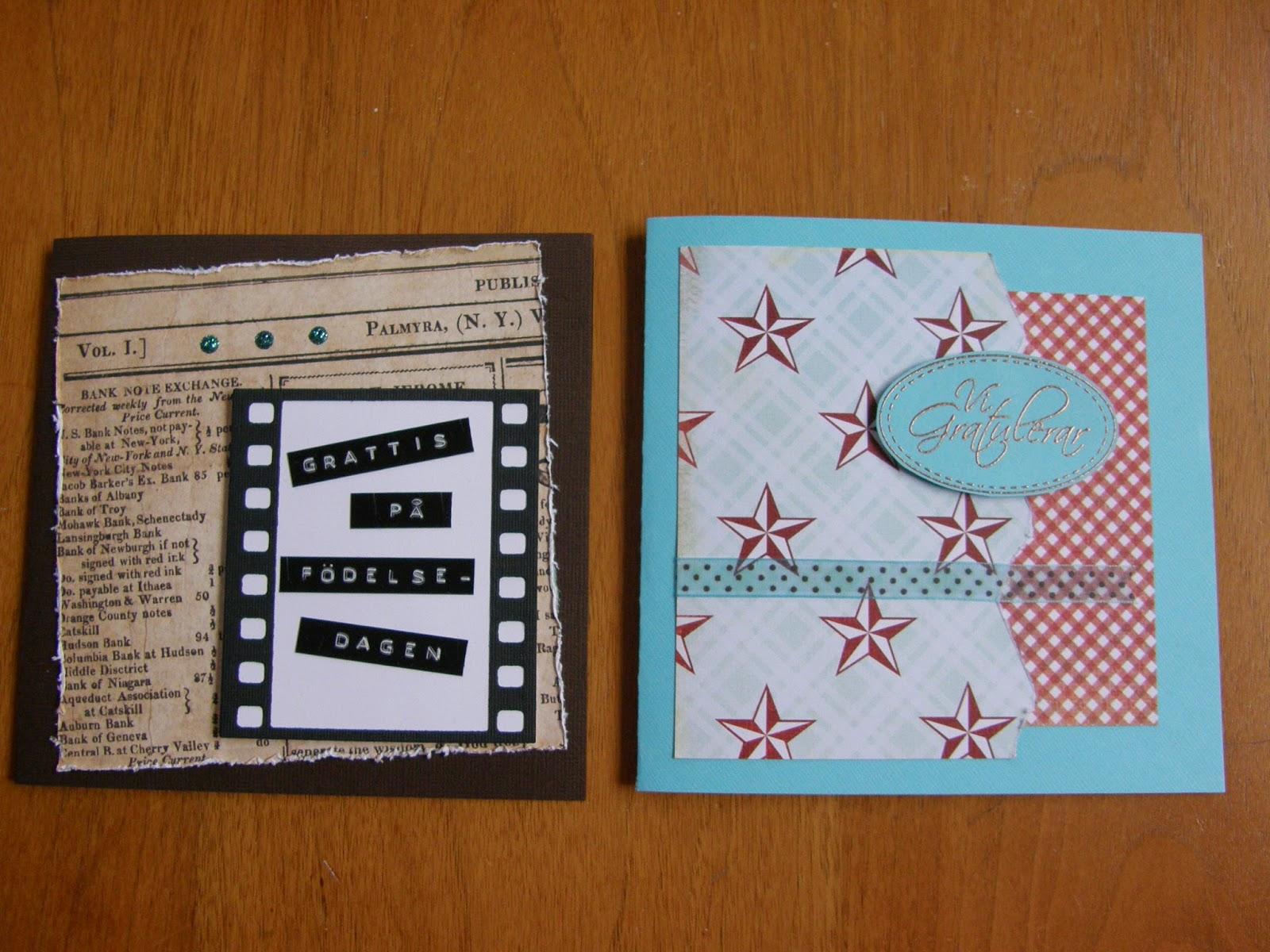 göra egna grattiskort BM FORM OCH PYSSEL: Födelsedagskort göra egna grattiskort