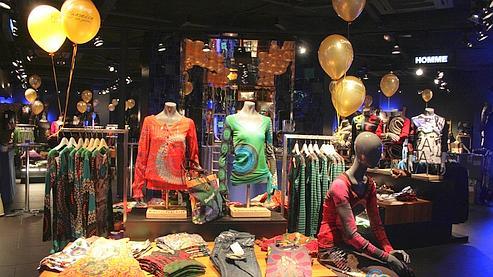 Lojas Desigual em Paris