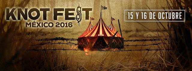 KNOT FEST México 2016