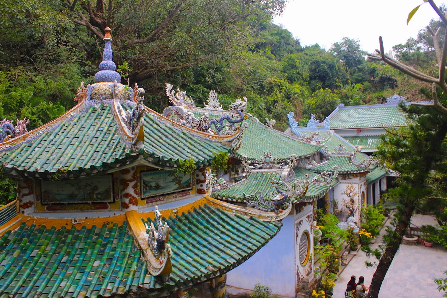 da nang marble mountain pagodas and temples