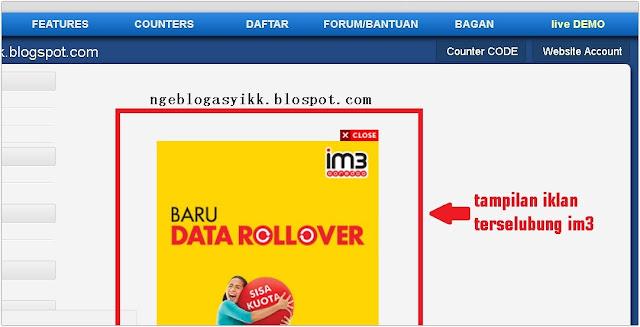 contoh iklan terselubung provider im3 ooredoo