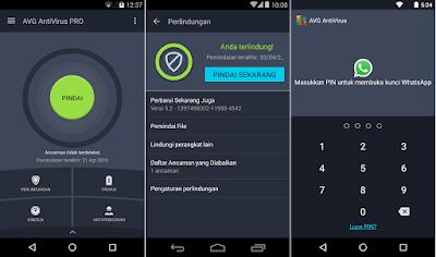 Download Aplikasi AVG AntiVirus PRO Untuk Android v5.9.4.1 Apk Terbaru 2017