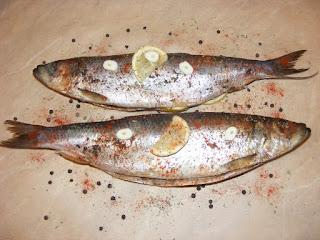 Sardina in hartie de copt retete culinare de peste,